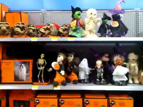 lots of halloween toys going off at once in walmart - Halloween Walmart