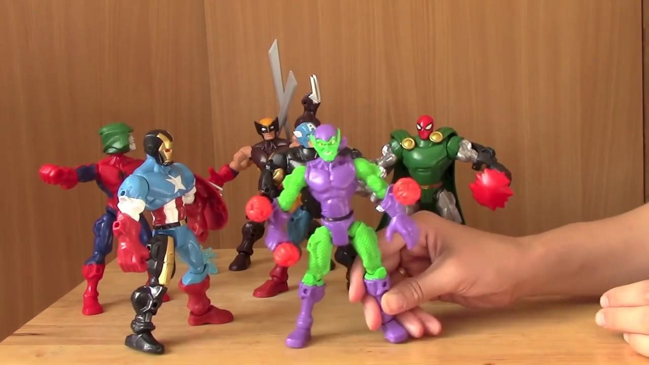 Superheroes Videos De Amigos Los Sus Spiderm Y Mashers Juguetes Spiderman Sorprendentes 0vw8nOmN