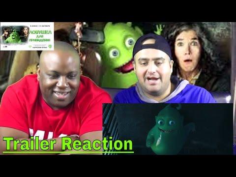 Ловушка для привидения (TRAPS FOR GHOSTS) Трейлер Reaction