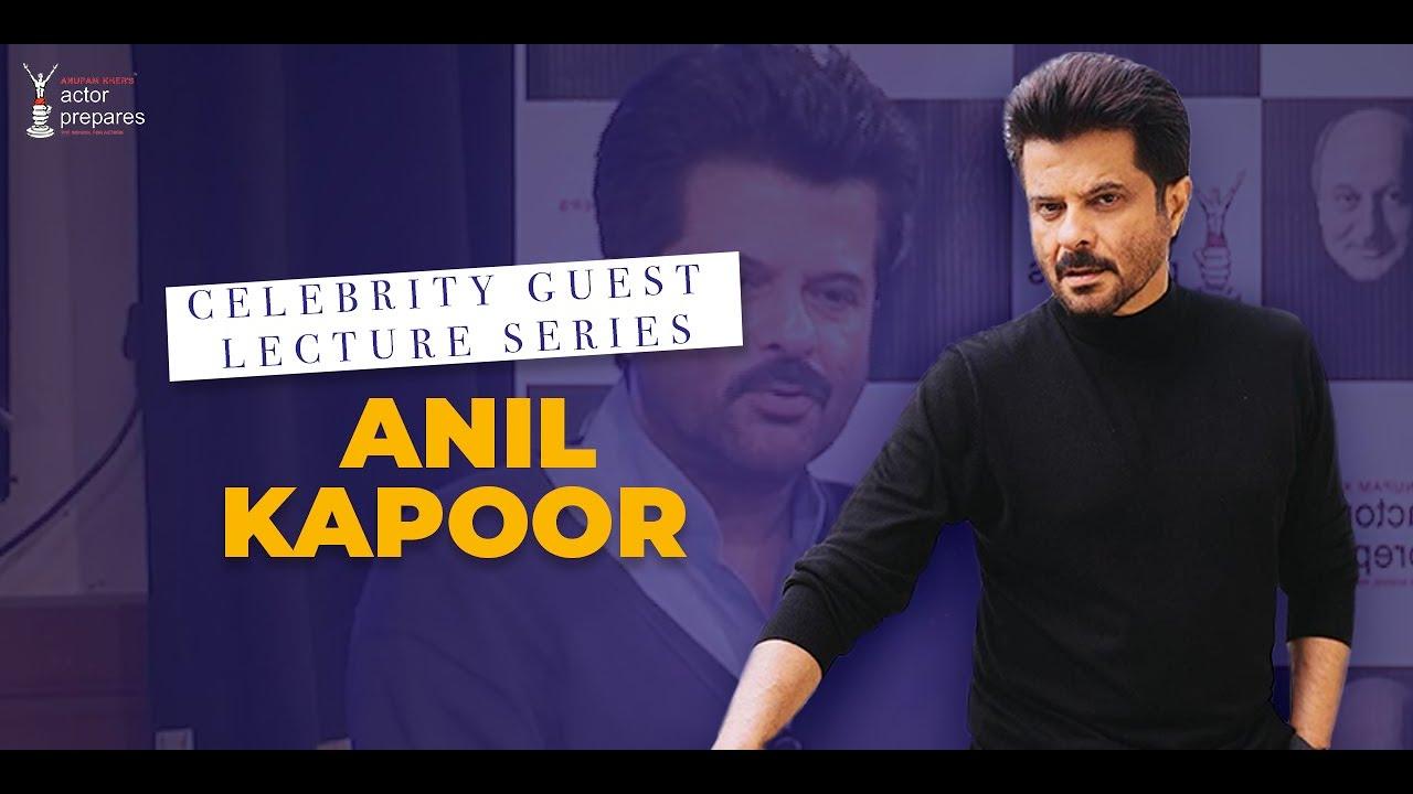 Celebrity Guest II Anil Kapoor at Actor Prepares