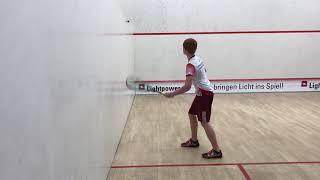 Volley Longline im Squash