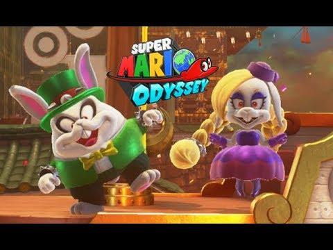 Super Mario Odyssey Big Broodal Battle Bowser S Kingdom Part