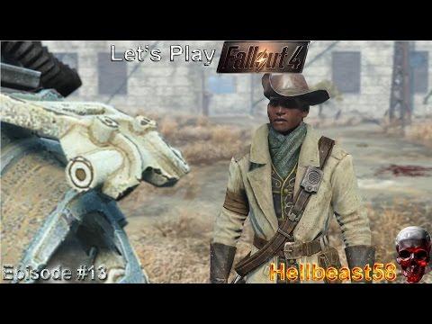 Form Ranks, Big Guns, Defend the Castle   Let's Play Fallout 4 PC #13