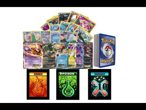 Golden Groundhog 100 Assorted Pokemon Cards with 8 Reverse Foils Includes Box!