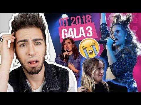 OT 2018 Gala 3 **REACCIÓN** | MALBERT