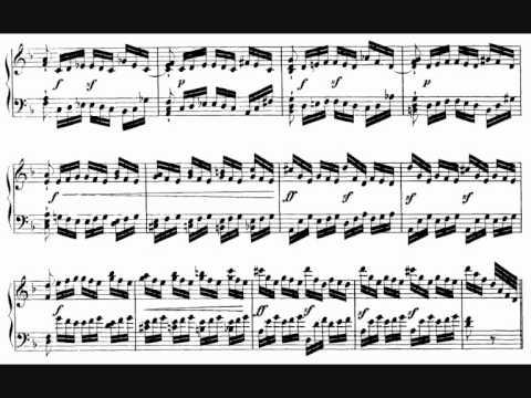 Félix Mendelssohn, Variations sérieuses, op. 54 (1841), with score