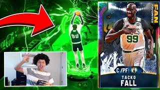 OMG GALAXY OPAL TACKO FALL MAKES THREES! HE IS THE MOST UNREALISTIC CARD! NBA 2K20 MYTEAM GAMEPLAY