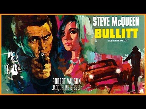 Bullitt (1968) Trailer - Color / 2:45 mins