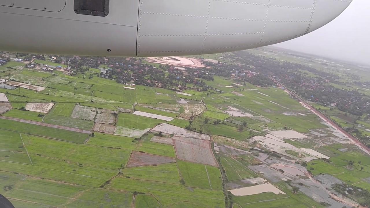 Xian Aeroporto : Cambodia bayon air xian ma landing at siem reap international