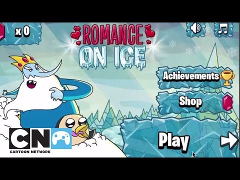 Adventure Time Romance on Ice Playthrough | Games | Cartoon Network