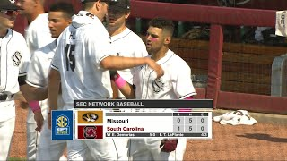 HIGHLIGHTS: Baseball vs. Missouri — 5/13/18