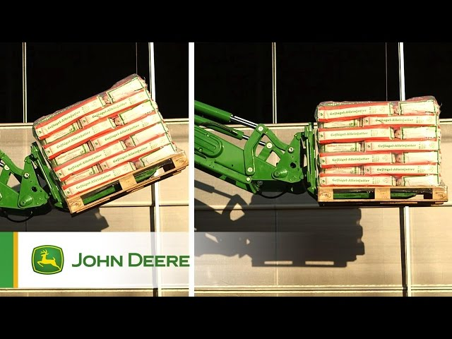 The John Deere R-Series Frontloaders -  ESL and RTP