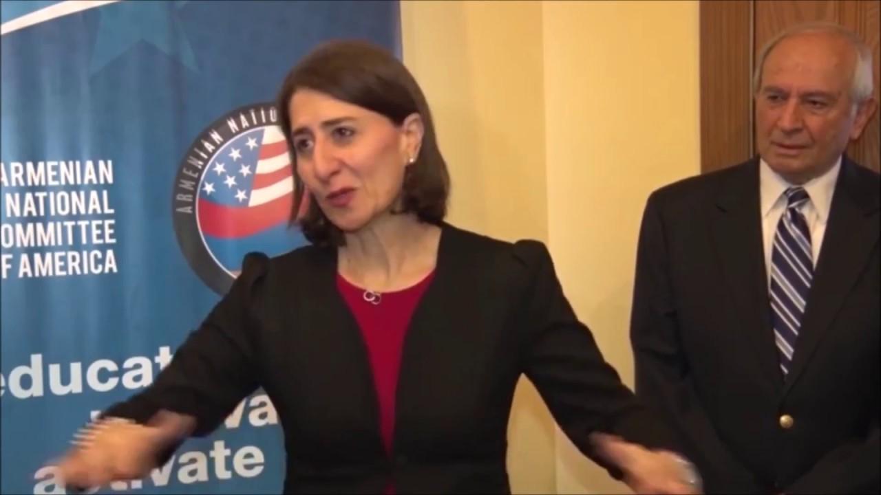ANCA Welcomes Australia's NSW Premier Gladys Berejiklian to Washington, DC
