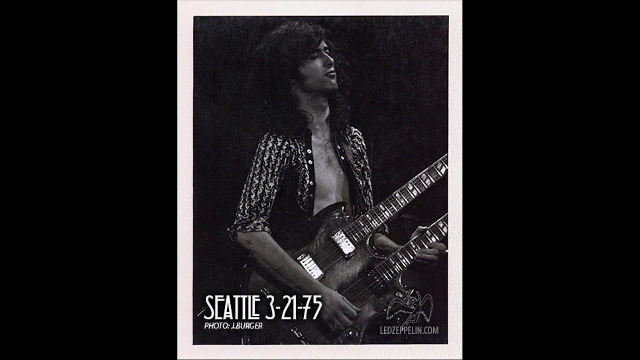 Led Zeppelin - Live in Seattle, WA - March 21, 1975 (Cuztard Pi Matrix)