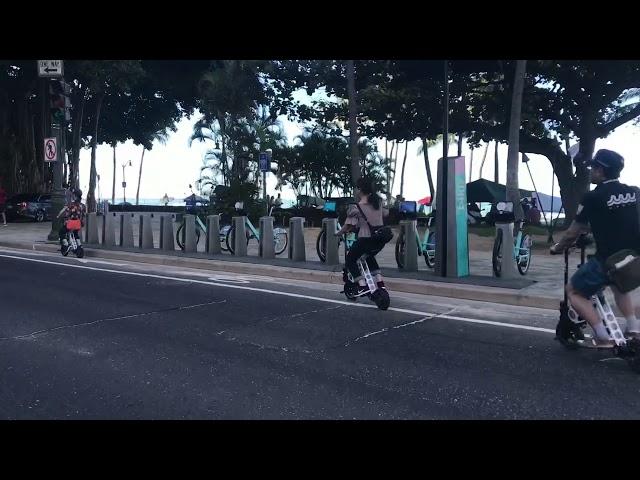 URB-E Hawaii Diamond Head Ride and Hike 3