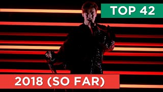 TOP 42 (SO FAR) | Eurovision 2018 (12 March)
