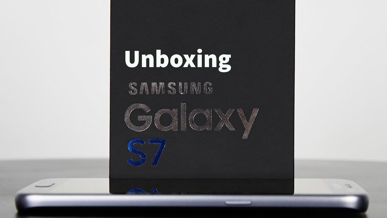 Samsung galaxy s7 edge unboxing deutsch 4k youtube - Samsung Galaxy S7 Ausgepackt Unboxing Deutsch Giga De