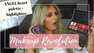 Скачать BEAUTY Makeup Revolution ANGEL Heart Collection Pink Eyeshadow
