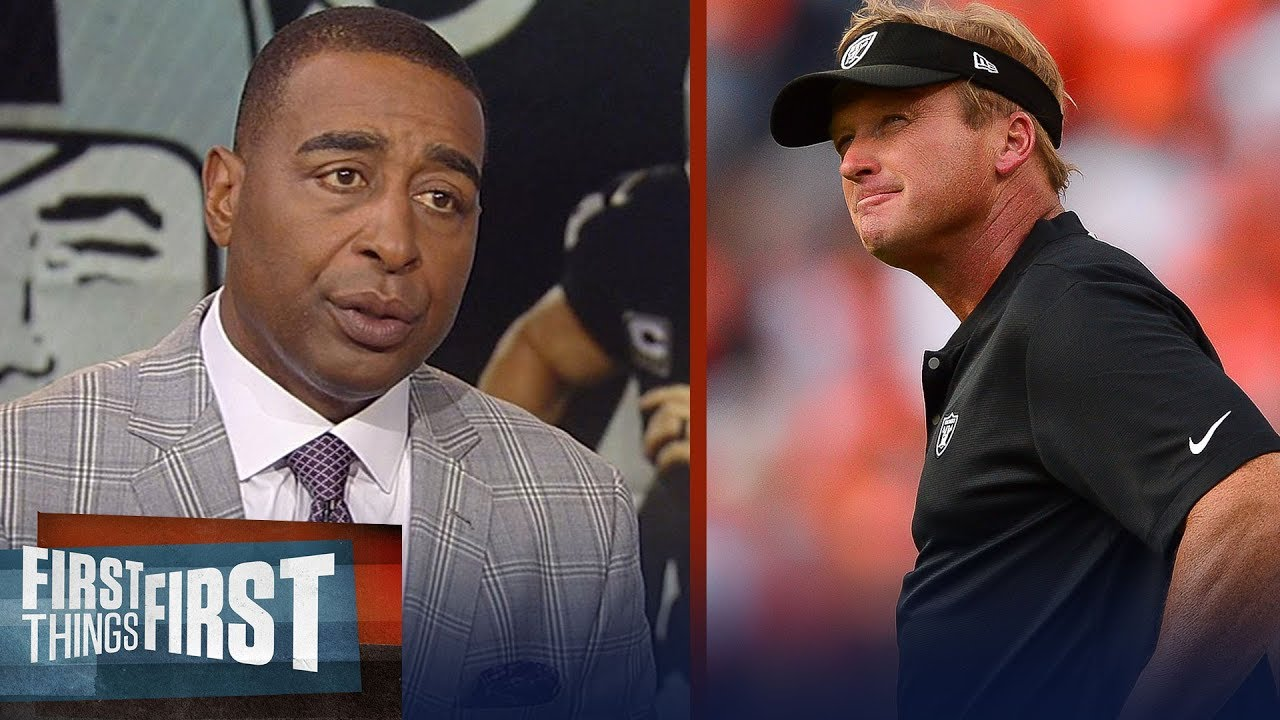 Cris and Nick diagnose what's going very, very wrong for the Raiders | NFL | FIRST THINGS FIRST