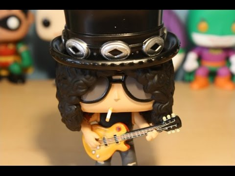 Slash Figure Guns N´ Roses  Music Rock collectible miniature Axl Rose