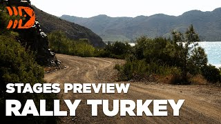 WRC Rally Turkey 2020 Stages Preview