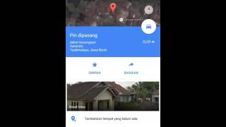 cara membuat peta lokasi google maps di hp android