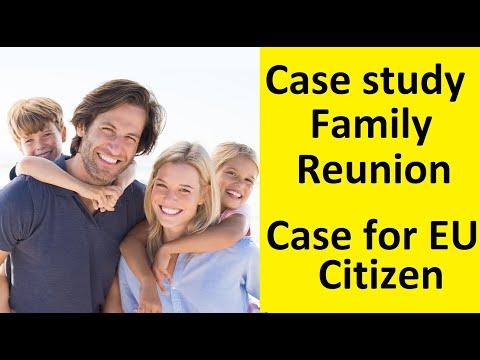 Family Reunion Visa for  EU Citizen – Family reunification visa expert