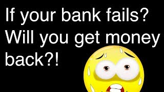 What if your bank fails? Will you get back money? All about deposit insurance