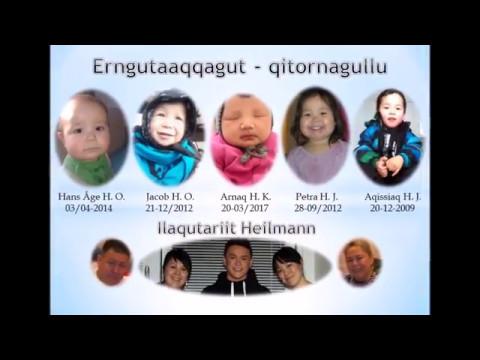 """Ilaqutariit Heilmann - Heilmann Family with music by Arne Heilmann """"Perorfik"""""""