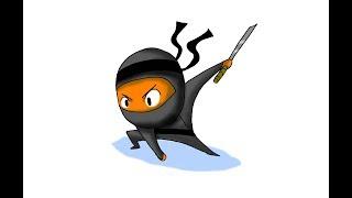 Zeichnen von Cartoons Mit Bryan Kilgore -Ninja-bj