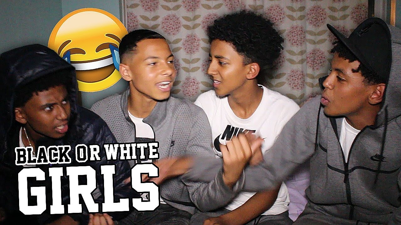 Which Do Guys Prefer Black Or White Girls - Youtube-3651