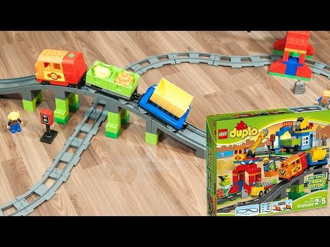 lego duplo railway on mega circuit lego duplo eisenbahn. Black Bedroom Furniture Sets. Home Design Ideas