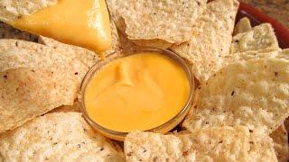 Salsa De Queso Para Nachos | Recetas De Salsas Para Dipear
