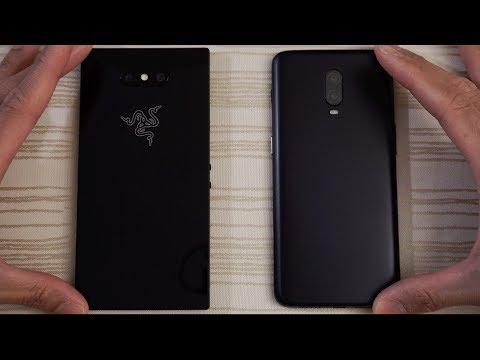 Razer Phone 2 vs OnePlus 6T - Speed Test!