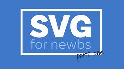 A beginners guide to SVG   Part One: The Why, What, and How