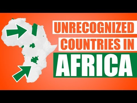 Unrecognized Countries in Africa