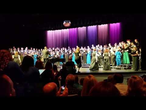 Fernley High school Choir with Carson and Fallon Choirs.
