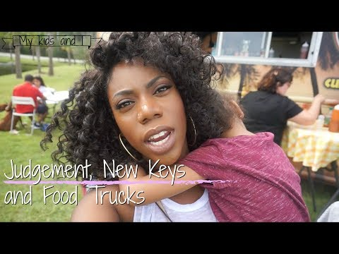 JUDGEMENT , NEW CAR KEYS AND FOOD TRUCK FESTIVAL | My Kids and I Vlogtober