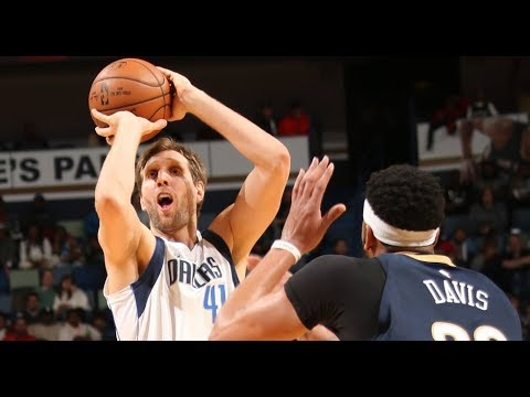 The Mavericks Drain 22 Total Three Pointers vsThe New Orleans Pelicans