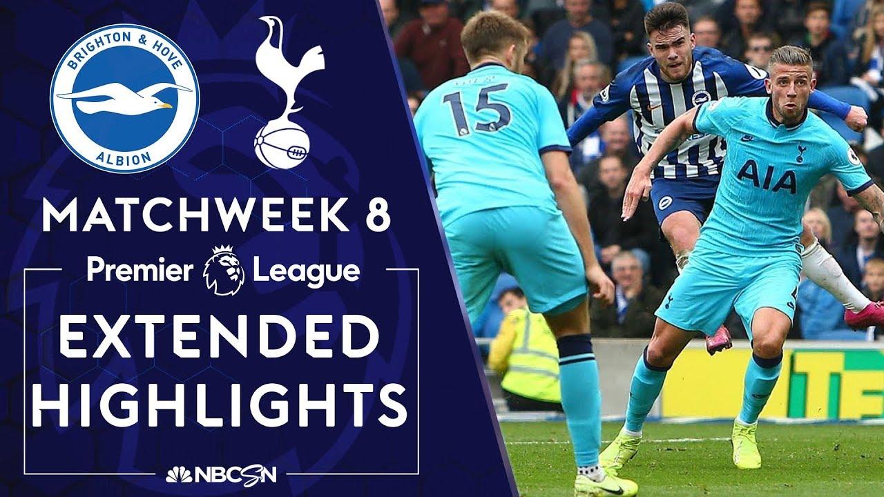 Brighton v. Tottenham | PREMIER LEAGUE HIGHLIGHTS | 10/5/19 | NBC Sports
