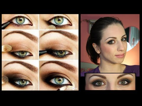 smokey eyes facile make up tutorial youtube. Black Bedroom Furniture Sets. Home Design Ideas
