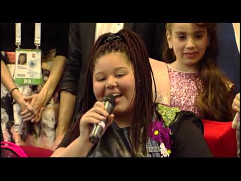 Junior Eurovision 2015: Winner Press Conference
