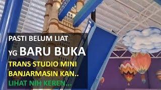Wow..Kereeen Opening Roller Coaster Trans Studio Mini Transmart Banjarmasin Part 1