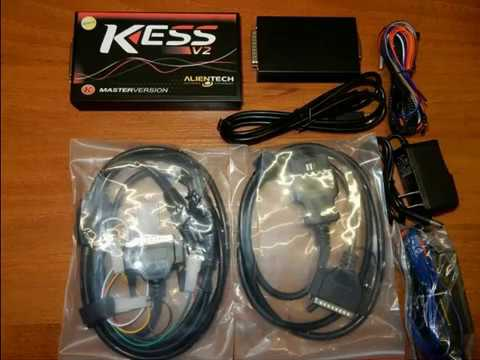 2018 New KESS V2 5 028 With Red PCB Hands on Review