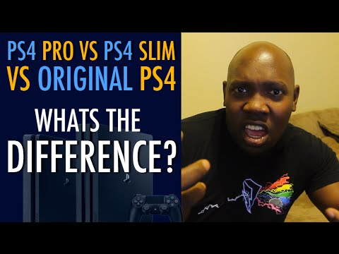 sony ps4 pro vs original ps4 vs ps4 slim what 39 s the. Black Bedroom Furniture Sets. Home Design Ideas