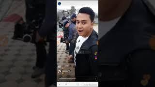 Osman Novruzov - Toshkent da klip olish jarayoni