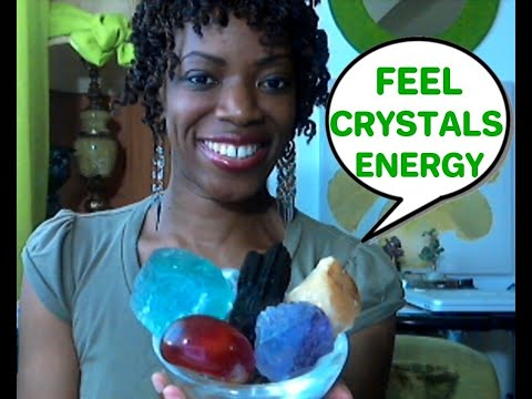 Working With Crystals? How To Feel/Sense Crystal Energy! (Us