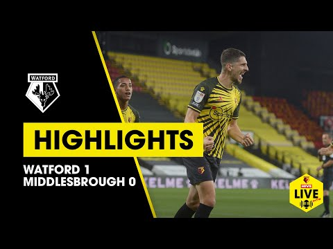 Watford Middlesbrough Goals And Highlights