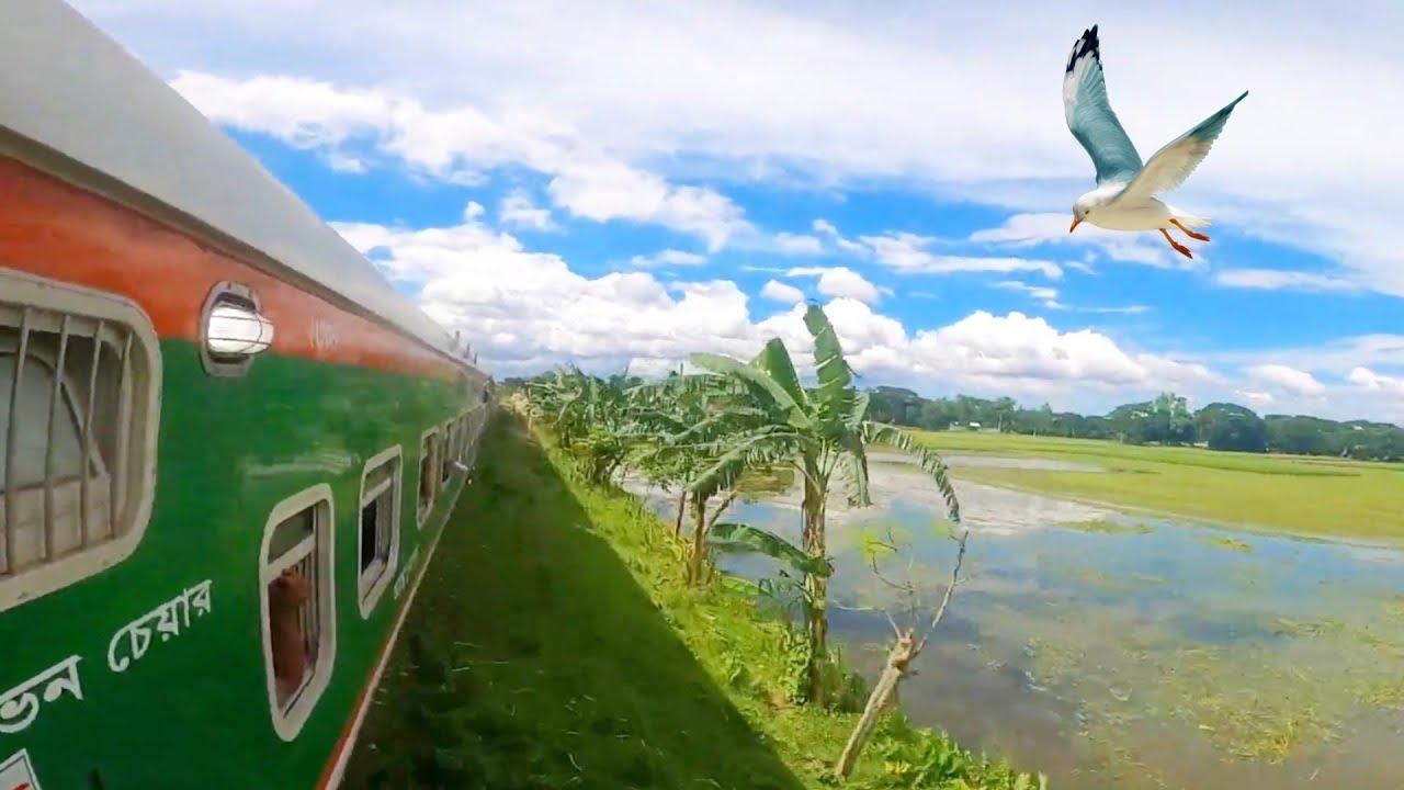 PT inka Train || Kishoreganj Express on Board Journey || 4k