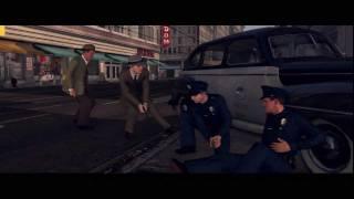 L.A.NOIRE L.A.ノワール 警官殺し Cop killing (銃撃戦) Gun Fight